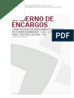 Cadernos Encargos Antonio Caldas