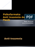 Psikofarmaka Anti Insomnia Dan Anti Panik