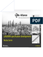 LoRaWAN Specification Developments