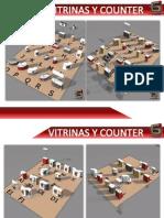 Vitrinas y Counter