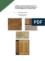 Shanker Thapa's Metadata of Endangered Archives Programme [EAP] 676