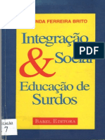 Retrospectiva Dos Estudos Da Libras No Brasil