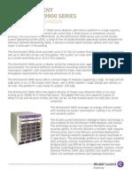 OmniSwitch 9900 Modular LAN Chassis en Datasheet