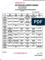 Jntuh B.tech_2-1_R13 Time Table [Jntuhyderabad.co.In