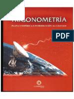 Trigonometria Plana y Esferica e Introduccion Al Calculo