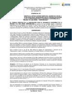Acuerdo 007 de 2015