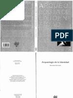 Arqueologia de La Identidad. Almudena Hernando