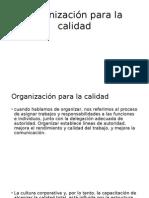 Organización Para La Calidad