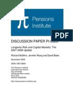 Longevity Risk 2007-08 Update