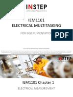 IEM 1101 CH1 (Electrical Measurement)