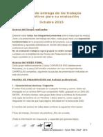 RyLA - Pautas de entrega y evaluación - Oct 2015