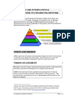 CARE Programme Standards Framework