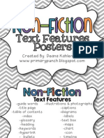 Nonfiction Text Features Flashcards