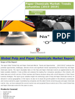 Global Pulp and Paper Chemicals Market