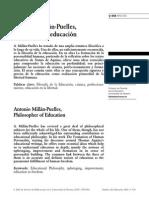 7. Antonio Millán-Puelles, Filósofo de La Educación.