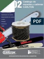 catalogo de cadenas de moto-sierra