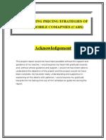 Compairing Pricing Strategies Publish