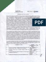 Informe de Evaluación Ong's