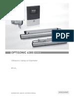 Optisonic 6300 Handbook