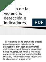 5 Deteccion e Indicadores Violencia