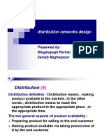 Distribution Network Design