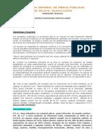 Especificaciones Particulares (1)
