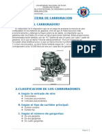 Sistema de Carburacion