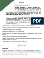31. Olaguer v. Military Commission