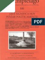 Franco Bifo Berardi - Del Intelectual Orgánico a La Formación Del Cognitariado (Archipiélago Nro 66)
