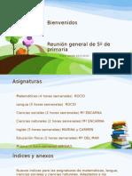 Reunión General de Padres - FINAL - 5º Pimaria