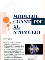 modelul cuantic