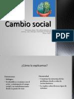Cambio Social - Touraine
