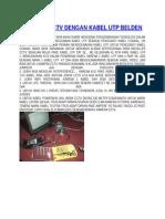 INSTALASI CCTV DENGAN KABEL UTP BELDEN.docx