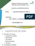 EQ. Mínimo (14.09.2015)