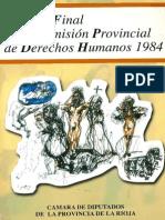 Informe Final de La Comision de DDHH La Rioja