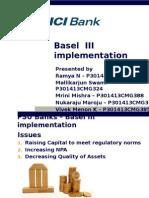Basel 3 Implentation in India
