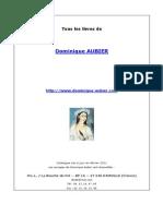 Tous Les Livres de Dominique Aubier