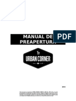 Manual de Preapertura Urban Corner