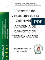 proyecto ACATE 2015