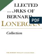 Bernard Lonergan Collection