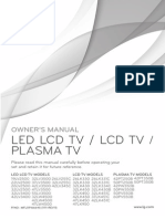 Manual TV LED Chico