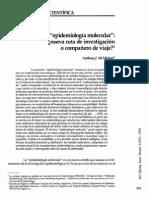 EPIDEMIOLOGIA MOLECULAR COPCEPTO