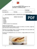 ACTIVIDADES INTEGRADORAS TIPO SIMCE N°4. LENGUAJE. 2° BÁSICO