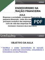 Empreendedorismo Na Admnistração Financeira