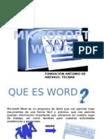 Diapositiva Word