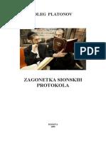 Oleg Platonov - Zagonetka Sionskih Protokola