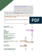 Capital Budgeting Using Simulation