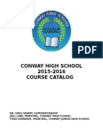 chs course catalog 2015-2016