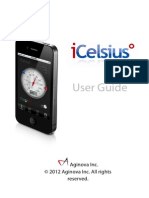 ICelsius - User Guide - Rev. 7