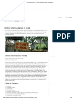 Online Intermediaries in India - Network of Centers - Publixphere